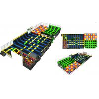 Buy cheap 750M2 China Supply Luxury Indoor Trampoline/Bungee Park With Dodge Balls Basketball Foam Pit from wholesalers