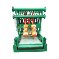 Buy cheap Bottom Shaker Desilter Hydrocyclone Machine for Oil and Gas Drilling,Drilling Mud Desilter from wholesalers