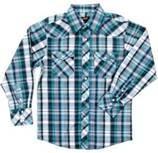 Unique design childrens clothing cotton plaid boys shirt, plaid shirts long sleeve Manufactures