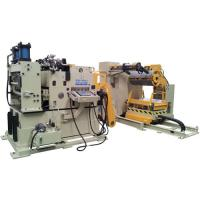 Buy cheap Sheet Automatic Straightening Machine , Fast Speed Pneumatic Punching Mold Feeder from wholesalers