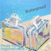 Buy cheap vinyl pvc zipper bags with handles, Handbag Storage Anti-dust Cover Clear Hanging Closet Bags Organizer Custom Dust Bag from wholesalers