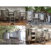 Buy cheap Beer Brewhouse Equipment 200L 300L 500L Stainless Steel Beer Brewing Equipment from wholesalers