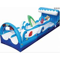 Buy cheap PVC 0.55mm 18oz Surf Wave Inflatable Slip Slide For Adults, Backyard Inflatable inflatable water sports game for turtle from wholesalers