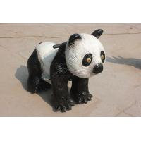 Buy cheap Coin Operated Electric Toy Car Walking Simulation Panda Ride For Playground from wholesalers