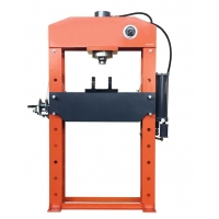 Buy cheap Powder Coating 75 Tonne Workshop Hydraulic Press With Pressure Gauge from wholesalers