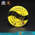 Buy cheap Acrylic Crystal Plastic Poker Chips Mesh Dragon Phoenix Bronzing from wholesalers