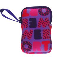Wholesale Rectangular Cube Neoprene Camera Case Purple For Sony / Nikon / Canon from china suppliers