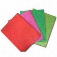 Wholesale Glitter EVA Foam Sheets for Art and Craft Uses, Available in Various Colors from china suppliers