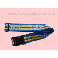 Buy cheap Heavy duty polyester luggage belt lanyard with or without digital code lock, from wholesalers