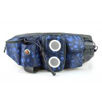 Mountain Climbing Sport Waist Bag With TF Card Radio Functions For Men / Women