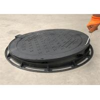Buy cheap High Strength Ductile Iron Manhole Cover Grey Black Color Eco Friendly from wholesalers