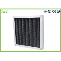 Buy cheap Active Carbon Replacement Air Filter 800 - 3200 M³/H Rated Air Flow Panel Odor product
