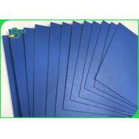 Wholesale 1.3mm 1.5mm 720 * 1020mm Blue Lacquered Solid Paperboard For File Folders from china suppliers