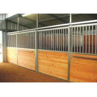 Buy cheap Hot Dip Galvanized Horse Stalls, Metal Horse StallsWith Riding Barn Accessories from wholesalers