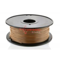 Buy cheap Cubify / Reprap wood 3d printer filament , 3d printing material ABS and PLA from wholesalers