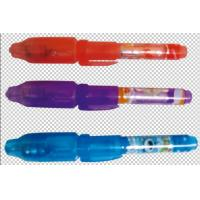 Buy cheap UV Light Pen (CH-Mini0813) -Secret Invisible Ink Pen With Built-in UV Light from wholesalers