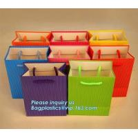 Buy cheap Custom Small Black Personalized Cheap Luxury Wine Glass Carrier Gift Paper Bag With Handle,Retail Gift Shopping Carrier from wholesalers