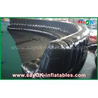 Buy cheap Eco-friendly Custom Inflatable Products 6 - 10m Black Hermetically Sealed 0.6mm PVC Inflatable Sofa from wholesalers