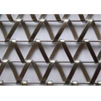 Buy cheap Architectural Decorative Metal Mesh Screen Stainless Steel No Fading For Hotel from wholesalers