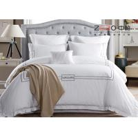 Creative Embroidery Pattern Hotel Bed Linen Fashionable With Duvet Cover