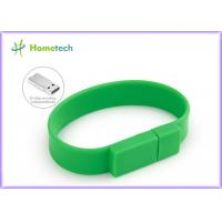 Buy cheap Promotional Gift  Silicone USB Wristband USB Flash Drive 4GB / 8GB product