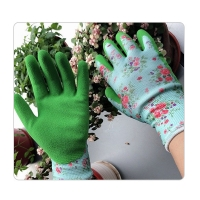 Buy cheap Rubber Coated 15G Childrens Gardening Gloves from wholesalers