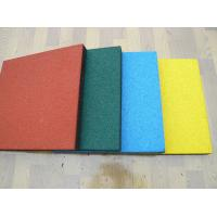 China Playground rubber tiles on sale