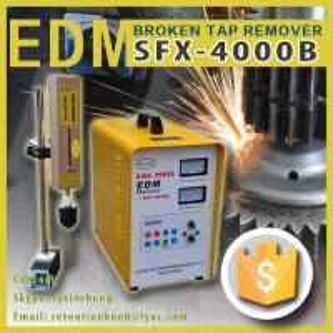SFX-4000B Broken tools remover spark erosion machine portable edm machine broken tap remover