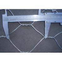 Buy cheap Galfan wire mesh Hexagonal Wire Netting rockfall protection systems product