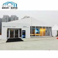 Buy cheap 1000sqm Giant Outdoor Exhibition Tents Glass Windows Lining Curtain from wholesalers