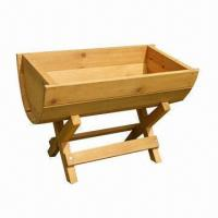 Buy cheap Plan Stand/Flower Box, Made of Kiln-dried Fir Wood, with Great Quality from wholesalers