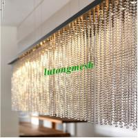 Buy cheap 2015 Fashion Partition 6mm Gold Stainless Steel Ball Chain Curtain metal bead curtain from wholesalers
