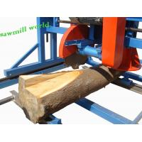 Buy cheap Wood Cutting Circular Saw Double Saw Wood Cutting Machine Portable Swing Blade Sawmill from wholesalers