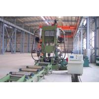 Automatic H Beam Production Line With Assembling / Welding / Straightening Combined Manufactures