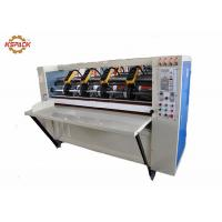 Buy cheap Auto Feeding Thin Blade Slitter Scorer Machine For Corrugated Paper Easy Operation product