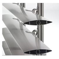 Buy cheap Aluminum Blinds Extrusion Profiles / Aluminum Extrusion Vertical Wind Turbine Blades from wholesalers