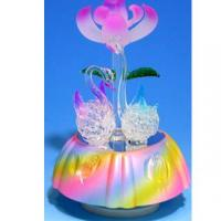 Buy cheap Musical Box with Hand-made Spun Glass Figurines #320 from wholesalers