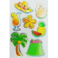 Buy cheap 3D hologram stickers / Custom summer season style decals stickers from wholesalers