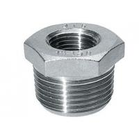 Buy cheap CNC Machined Stainless Steel Pipe Fitting Hexagon Bushing ss316 ss304 from wholesalers