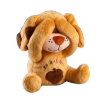 Buy cheap Electronic Plush Toys Peek a boo Dog plush toys from wholesalers