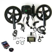 Buy cheap Bafang bbs 01 center crank mid drive motor 36v 250w electric bike conversion kit from wholesalers