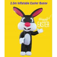 Buy cheap Custom Style Indoor/ Yard 2.5m Inflatable Easter Bunny from wholesalers