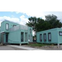 Buy cheap Stackable Luxury Home Container House Prefab Cement Fiber Board Floor product