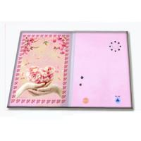 Buy cheap Pre - recorded Musical Greetings Cards Recordable Greeting Card with customized music from wholesalers