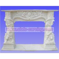 Buy cheap stone fireplaces,marble fireplaces.stone carving from wholesalers