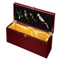 Buy cheap Custom Wine Storage Boxes Wooden, Mdf Gift Packaging Pantone Colors Printing For 1 Bottle from wholesalers