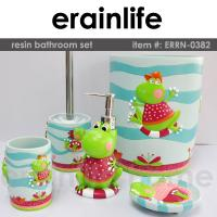 Buy cheap kids polyresin bathroom accessories set from wholesalers