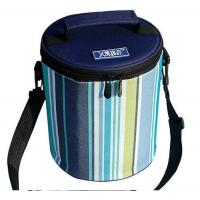 Buy cheap Cylindric Insulated Cooler Bags , Portable Wine Cooler BagTop Round Zipper from wholesalers