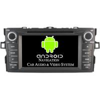Buy cheap Professional Quad Core Corolla Toyota Radio GPS 3G / WiFi Car DVD Player 2012 2013 from wholesalers