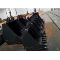 Buy cheap Any Brand Excavator Digging Bucket For Backhoe 0.4-8m3 Capacity Custom Size product